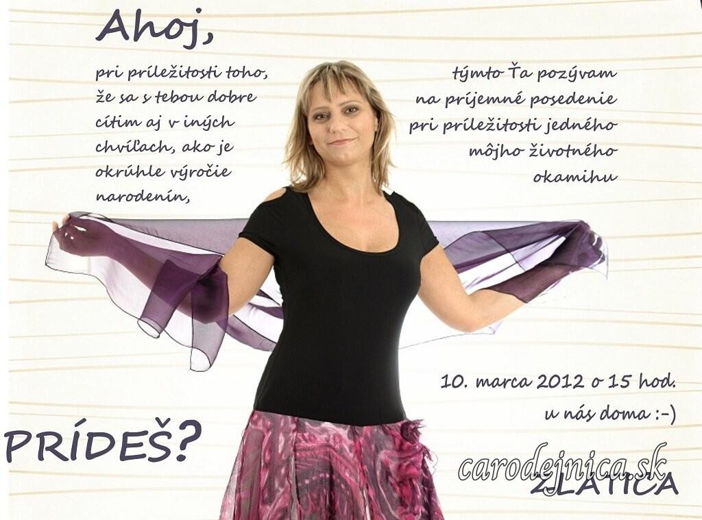 Žena a graficky spracované pozadie pozvánky na dámsku jazdu