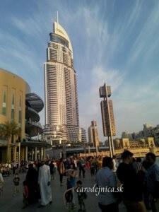 Adress Hotel na Dubaj Mall
