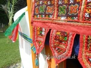 čarodejnica v mongolskej yurte
