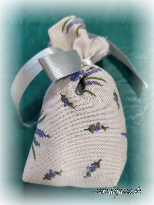 levanduľové hand made vrecko