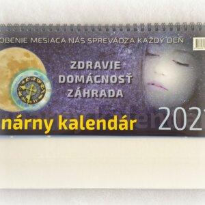 Lunárny kalendár 2021 stolový
