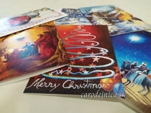 vianočné a novoročné pohľadnice