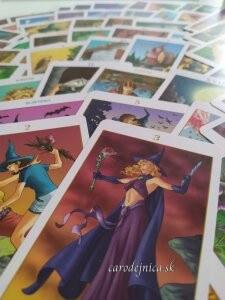 tarotové karty witch tarot